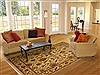Jaipur Yellow Hand Knotted 711 X 102  Area Rug 100-10900 Thumb 4
