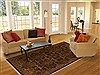 Jaipur Green Hand Knotted 80 X 100  Area Rug 100-10905 Thumb 4