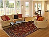 Kazak Red Hand Knotted 80 X 100  Area Rug 100-10906 Thumb 4