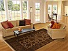 Jaipur Brown Hand Knotted 80 X 100  Area Rug 100-10910 Thumb 4