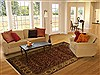 Jaipur Brown Hand Knotted 80 X 100  Area Rug 100-10911 Thumb 4