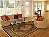 Jaipur Beige Hand Knotted 80 X 100  Area Rug 100-10914 Thumb 4