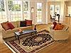 Sino-Persian Beige Hand Knotted 79 X 911  Area Rug 100-10915 Thumb 4