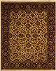 Jaipur Yellow Hand Knotted 83 X 100  Area Rug 100-10916 Thumb 0
