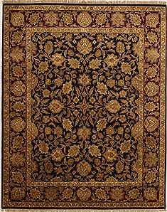 Jaipur Brown Hand Knotted 8 0 X 10 2 Area Rug 100