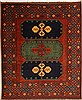 Kazak Red Hand Knotted 83 X 94  Area Rug 100-10924 Thumb 0