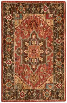 "Nourison Living Treasures Red 2'6"" X 4'3"" Area Rug  805-100330"