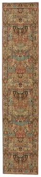 "Nourison Living Treasures Multicolor Runner 2'6"" X 12'0"" Area Rug  805-100339"