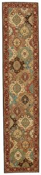 "Nourison Living Treasures Multicolor Runner 2'6"" X 12'0"" Area Rug  805-100349"