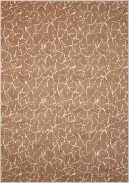 Nourison NEPAL Brown Rectangle 10x13 ft Wool Carpet 101037