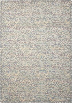 Nourison NEPAL Multicolor Rectangle 10x13 ft Wool Carpet 101090
