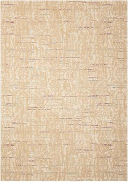 Nourison NEPAL Grey Rectangle 8x11 ft Wool Carpet 101119