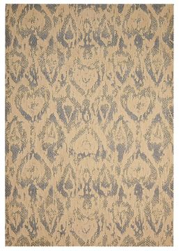 Nourison NEPAL Beige Rectangle 8x11 ft Wool Carpet 101124