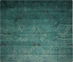 Nourison Nightfall Green Rectangle 6x9 ft Lucxelle Carpet 101127