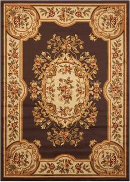 "Nourison Paramount Brown 3'11"" X 5'10"" Area Rug  805-102401"