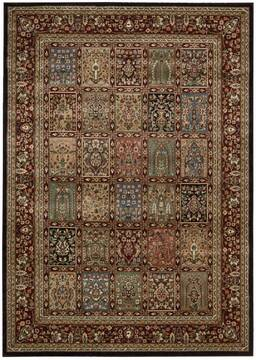 "Nourison Persian Arts Multicolor 5'3"" X 7'5"" Area Rug  805-102479"