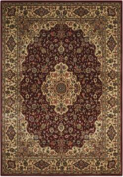 "Nourison Persian Arts Red 3'6"" X 5'6"" Area Rug  805-102486"