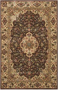 "Nourison Persian Arts Brown 2'0"" X 3'6"" Area Rug  805-102492"