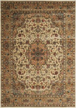 Nourison PERSIAN ARTS Beige Rectangle 2x4 ft polyester Carpet 102501