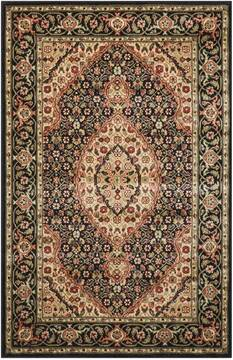 "Nourison Persian Arts Black 2'0"" X 3'6"" Area Rug  805-102510"