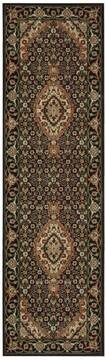 "Nourison Persian Arts Black Runner 2'3"" X 8'0"" Area Rug  805-102512"