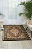 Nourison PERSIAN ARTS Black 36 X 56 Area Rug 99446691064 805-102513 Thumb 1