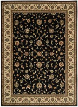 "Nourison Persian Arts Black 7'9"" X 10'10"" Area Rug  805-102543"