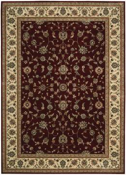 "Nourison Persian Arts Red 7'9"" X 10'10"" Area Rug  805-102552"