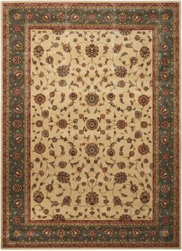 Nourison PERSIAN ARTS Beige Rectangle 5x7 ft polyester Carpet 102569