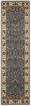 "Nourison PERSIAN ARTS Blue Runner 2'3"" X 12'0"" Area Rug 99446697721 805-102574"