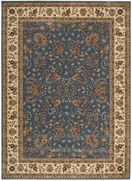 "Nourison Persian Arts Blue 7'9"" X 10'10"" Area Rug  805-102579"