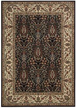 "Nourison Persian Arts Black 2'0"" X 3'6"" Area Rug  805-102582"