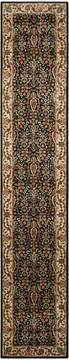 "Nourison Persian Arts Black Runner 2'3"" X 12'0"" Area Rug  805-102583"