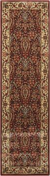 "Nourison PERSIAN ARTS Red Runner 2'3"" X 8'0"" Area Rug 99446170668 805-102593"