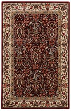 "Nourison Persian Arts Red 3'6"" X 5'6"" Area Rug  805-102594"