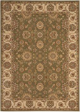 "Nourison Persian Crown Green 9'3"" X 12'9"" Area Rug  805-102661"
