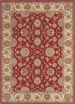 "Nourison Persian Crown Red 9'3"" X 12'9"" Area Rug  805-102681"