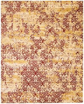 "Nourison Rhapsody Yellow 7'9"" X 9'9"" Area Rug  805-103062"