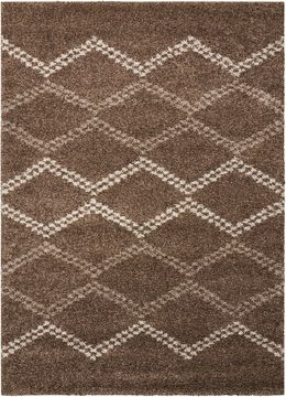 "Nourison TANGIER Brown 5'0"" X 7'0"" Area Rug 99446253033 805-104484"