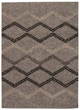 "Nourison TANGIER Grey 5'0"" X 7'0"" Area Rug 99446253088 805-104486"