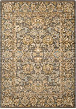 "Nourison Timeless Grey 5'6"" X 8'0"" Area Rug  805-104630"