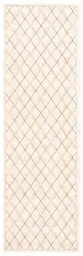 Nourison TRANQUILITY Beige Runner 6 to 9 ft nylon Carpet 104644