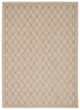 "Nourison TRANQUILITY Beige 3'9"" X 5'9"" Area Rug 99446261830 805-104645"
