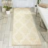 Nourison TRANQUILITY Beige Runner 22 X 76 Area Rug 99446262370 805-104664 Thumb 1