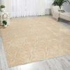 Nourison TRANQUILITY Beige 39 X 59 Area Rug 99446262301 805-104665 Thumb 1
