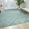 Nourison TRANQUILITY Blue 39 X 59 Area Rug 99446262455 805-104675 Thumb 1