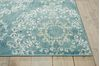 Nourison TRANQUILITY Blue 39 X 59 Area Rug 99446262455 805-104675 Thumb 2
