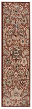 "Nourison Walden Red Runner 2'2"" X 7'6"" Area Rug  805-105272"