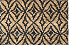 "Waverly WAV17 GREETINGS Blue Square 1'6"" X 2'4"" Area Rug 99446299772 805-105592"