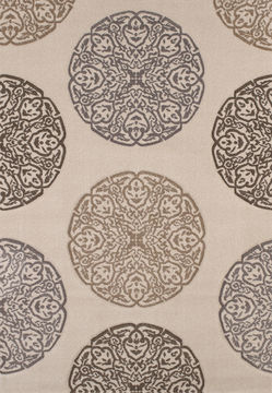 "United Weavers TOWNSHEND COLLECTION Beige 2'7"" X 4'2"" Area Rug 809014227294 806-106033"